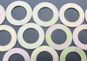 flat washers, spring washers, tab and lock washers and sealing washers